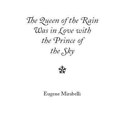 Queen of the Rain front cover