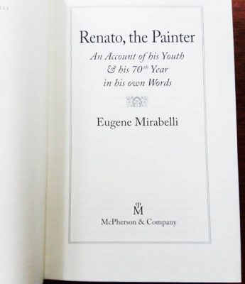 Who is Renato, the painter?